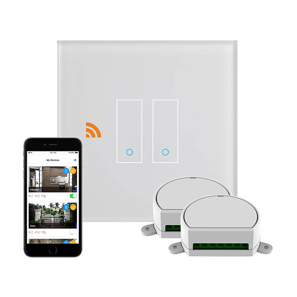 Crystal PG 2G Iotty Wifi Smart Dimmer Switch White