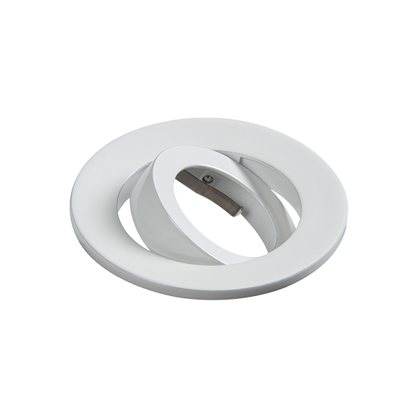 White Tilt Bezel for EVOICT Evolve Downlights